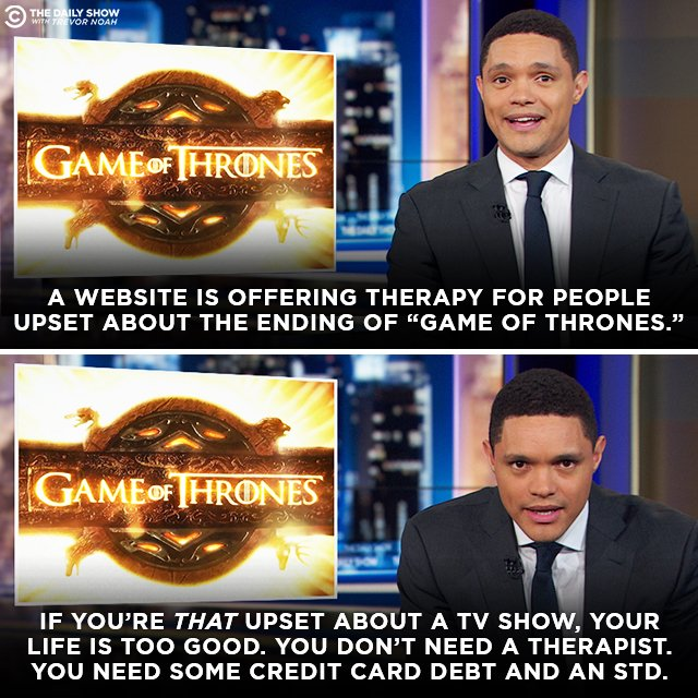 Some people are taking the #GoT finale a little too hard…