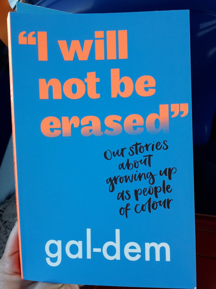 """While off Twitter yesterday I devoured @galdemzine's collection of essays I was sent, """"I Will Not Be Erased"""". The book is brilliantly presented with illustrations from Jess Nash peppered throughout. More on TeenLibrarian later but, in the meantime, just get your #library a copy!"""