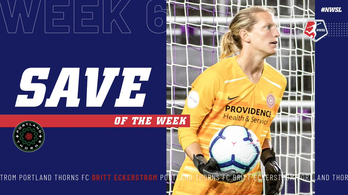 Image for the Tweet beginning: 🙅♀️🙅♀️ The Week 6 #NWSL