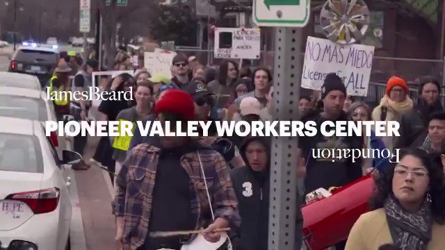 No one is free while others are oppressed. Learn more about 2019 Leadership Award honoree @PVWC1, and how they protect and empower laborers through grassroots campaigns: bit.ly/2MXZjca #jbfa #goodfoodforgood