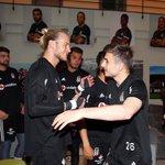 Image for the Tweet beginning: Futbolcularımız Dorukhan Toköz ve Rıdvan