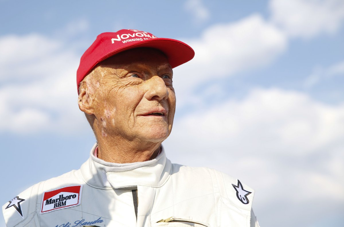 """""""The most courageous act of any sportsman I've ever seen in my life.""""  Tributes have been paid to three-time F1 world champion Niki Lauda who has died at the age of 70.  More: https://bbc.in/2Hu5ekr"""