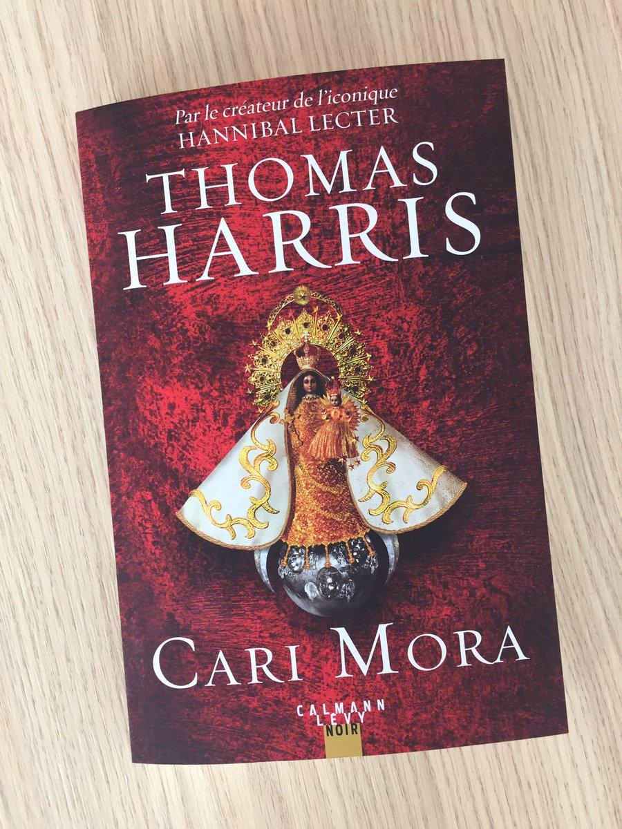 Follow & RT pour gagner un exemplaire de #CariMora, le nouveau roman événement de Thomas Harris, créateur du terrifiant Hannibal Lecter. Il n'avait rien publié depuis 12 ans ! Le livre sort demain, mercredi 22 mai, et @BernardLehut vous en parlera à 9h dans #laissezvoustenter.