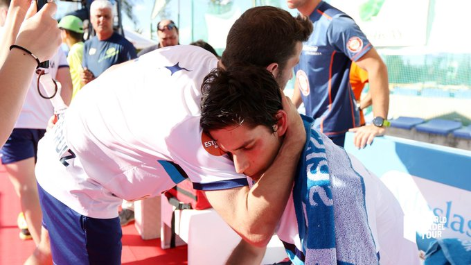 Maty Marina tuvo que retirarse en la final de la previa del Jaén Open