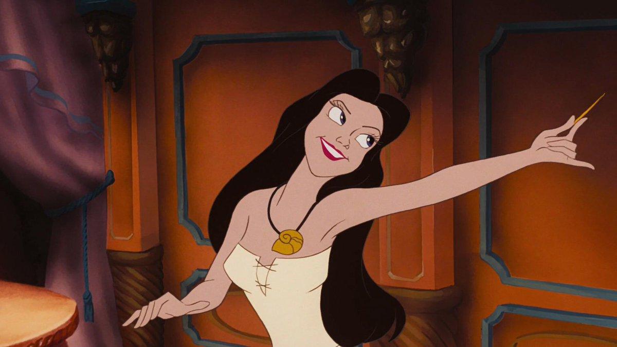 Vanessa (aka &quot;human Ursula&quot;) from &quot;The Little Mermaid&quot;.  #1stCartoonCrush<br>http://pic.twitter.com/hGpNir51zR