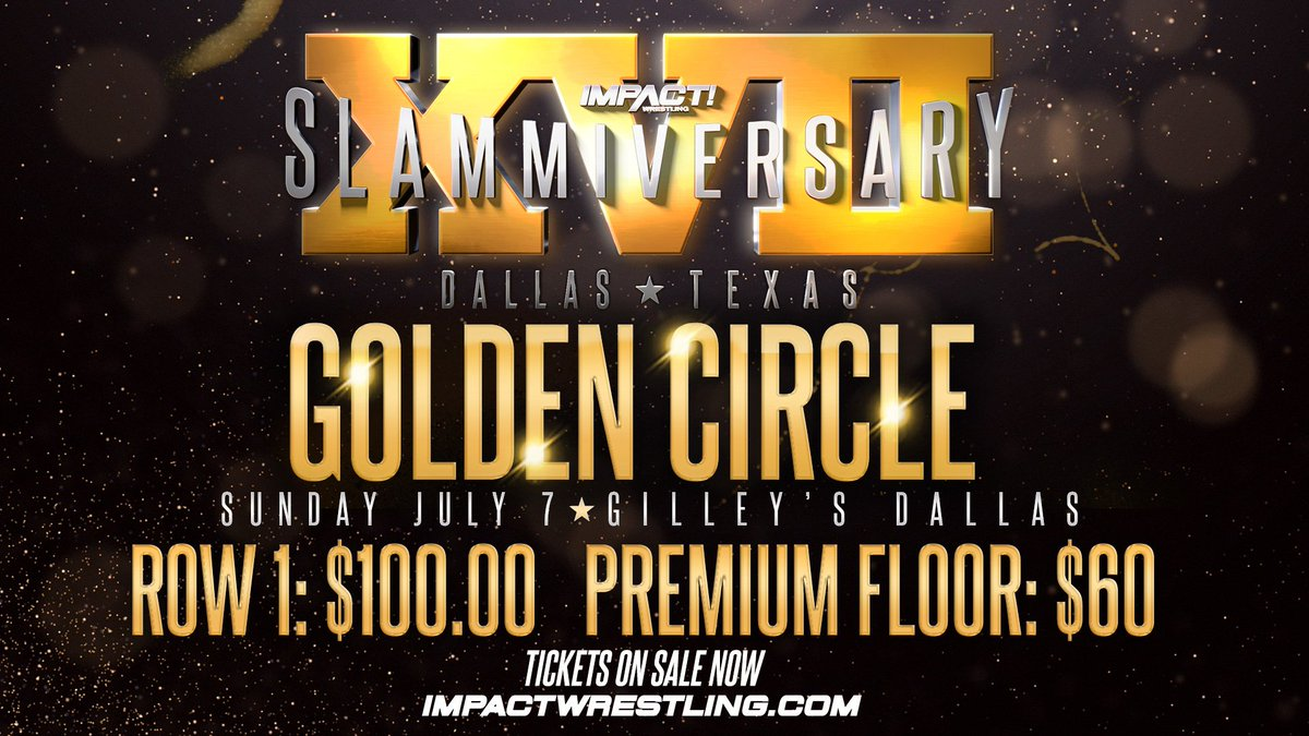 The biggest event of the summer is approaching fast! Witness #Slamm17 LIVE and IN PERSON!TICKETS: https://impac.tw/slamtwit