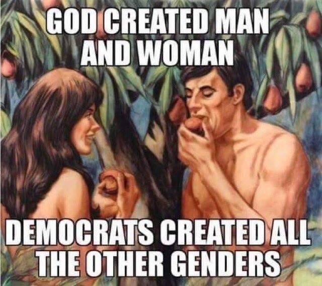 #OnlyTwoGenders ♂️♀️
