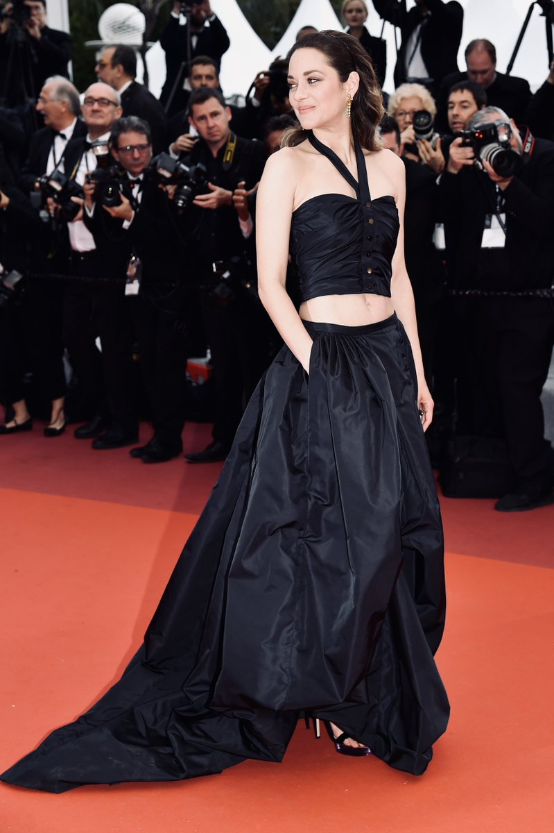 #CHANELinCannes — actress Marion Cotillard at #Cannes2019 for her latest movie 'La Belle Epoque' in a bespoke look inspired by vintage #CHANELHauteCouture. #CHANELinCinema  More on http://chanel.com/-T_Cannes19