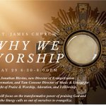 Image for the Tweet beginning: St. James Event: WHY WE