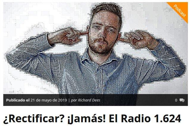 #ElRadio 1.624 está disponible en la Web Oficial http://elradio.es/rectificar-jamas-el-radio-1-624/…   en IVOOX https://www.ivoox.com/36155005  o en iTunes https://itunes.apple.com/es/podcast/podcast-de-el-radio/id817013961?mt=2…