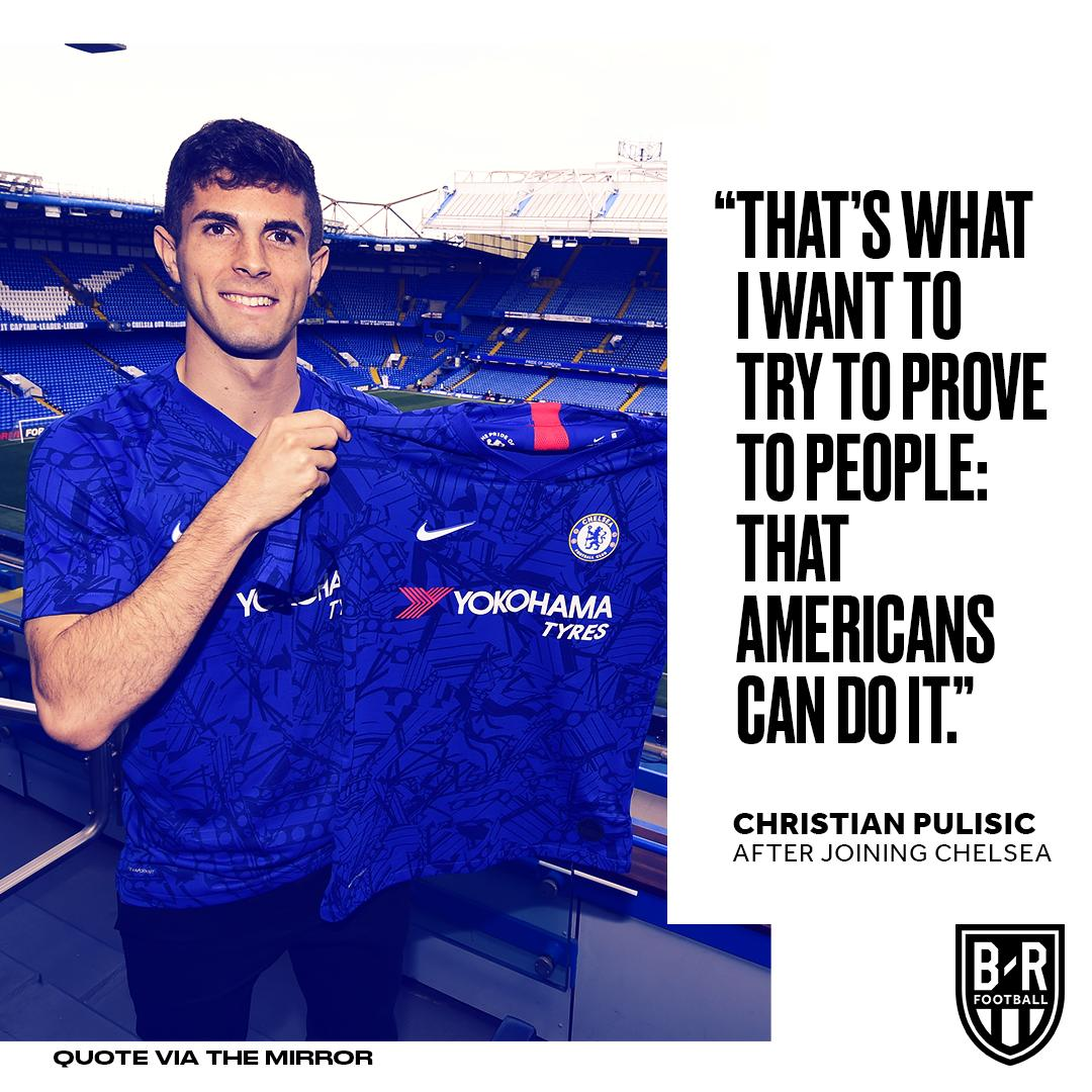 Pulisic paving the way 🇺🇸 (via @brfootball)