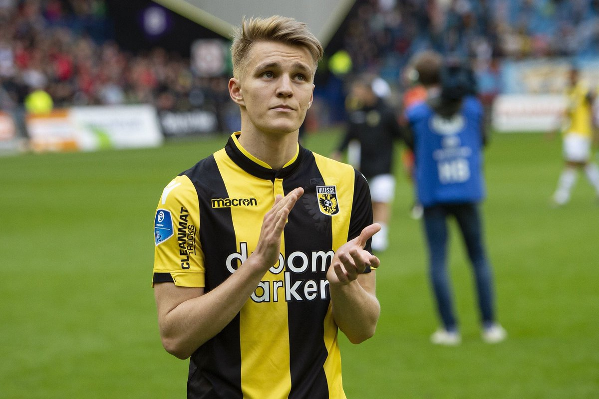 Martin Ødegaard's game by numbers vs. FC Groningen: 106 touches 52 passes 9 chances created 9 crosses 8 recoveries 5 take-ons completed 5 tackles made 3 fouls won 3 shots 2 shots on target 2 assists 1 goal Directly involved in all three goals... and everything else. 🤩