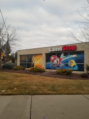 Found the Gamestop with the Super Mario Galaxy and Halo 3 Decal