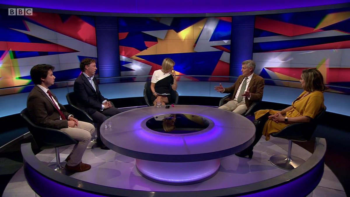 BBC Newsnight's photo on referendum