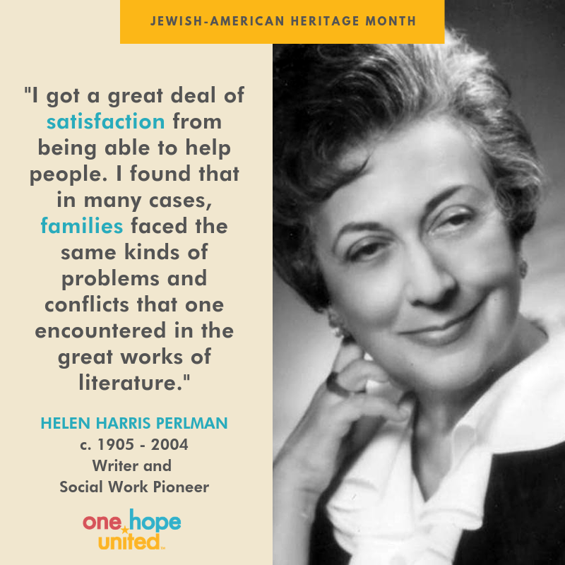 """test Twitter Media - Helen Harris Perlman was a #JewishAmerican woman who developed the """"Chicago School"""" of social work theory. She originally hoped to teach college English in the 1920s, but she found that opportunities in academia for Jewish women were scarce.   Read more at https://t.co/D5IC75QBE0 https://t.co/5mdgzGxig3"""