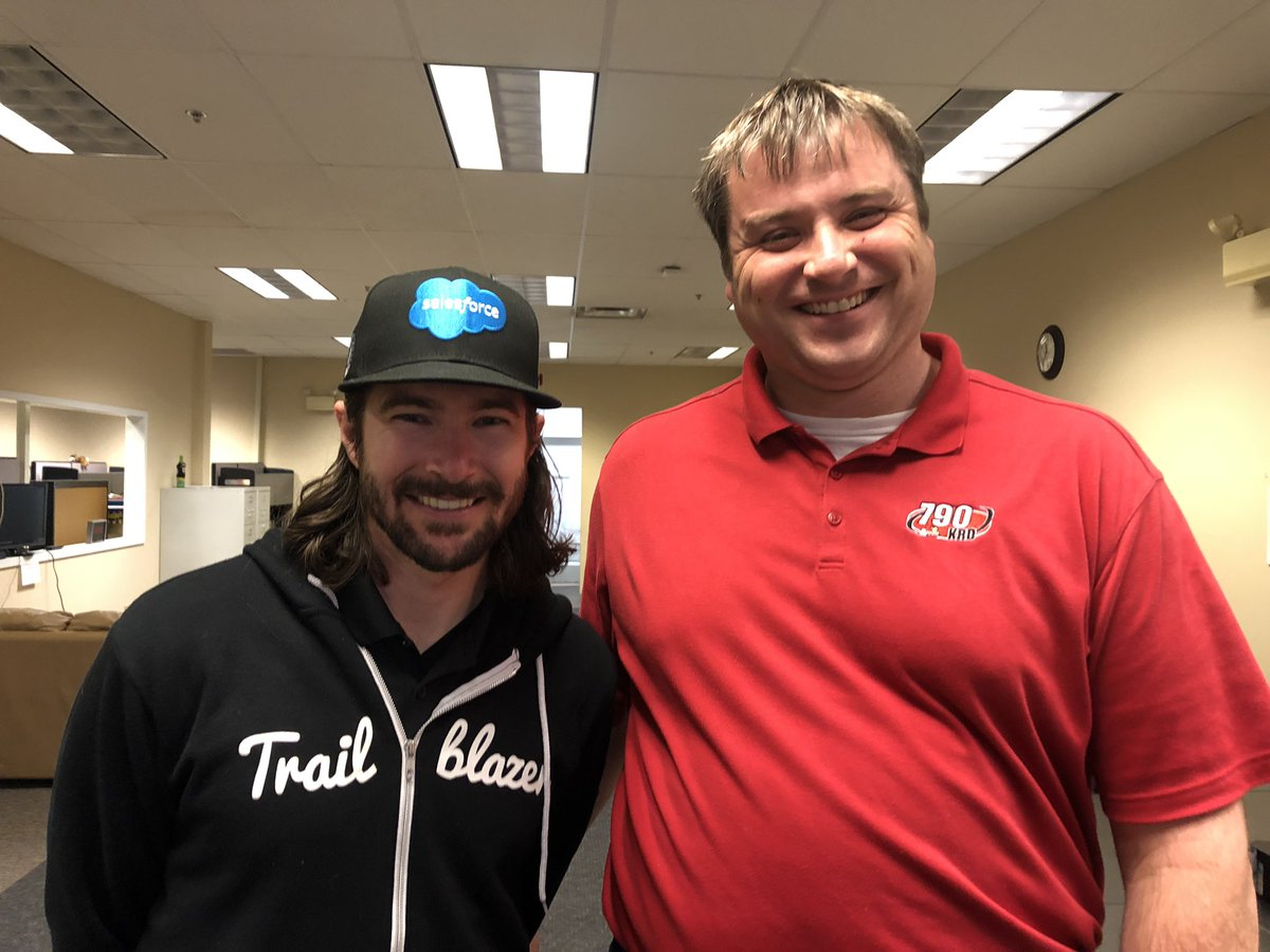 .@JRHildebrand stopped by the station to talk #Indy500 as part of the annual #Indy500mediaDay tour. Hear the interview I did with him this Saturday morning with .@sfitz_840WHAS on Kentuckiana's Saturday Morning News. .@840WHAS