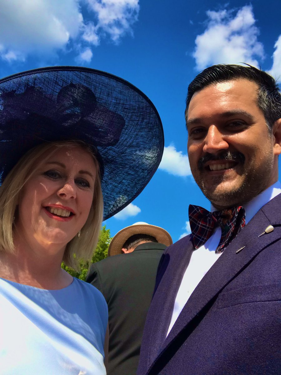 Great day today at the royal garden party representing @MidwivesRCM with @michellebeacock @LG_NHS