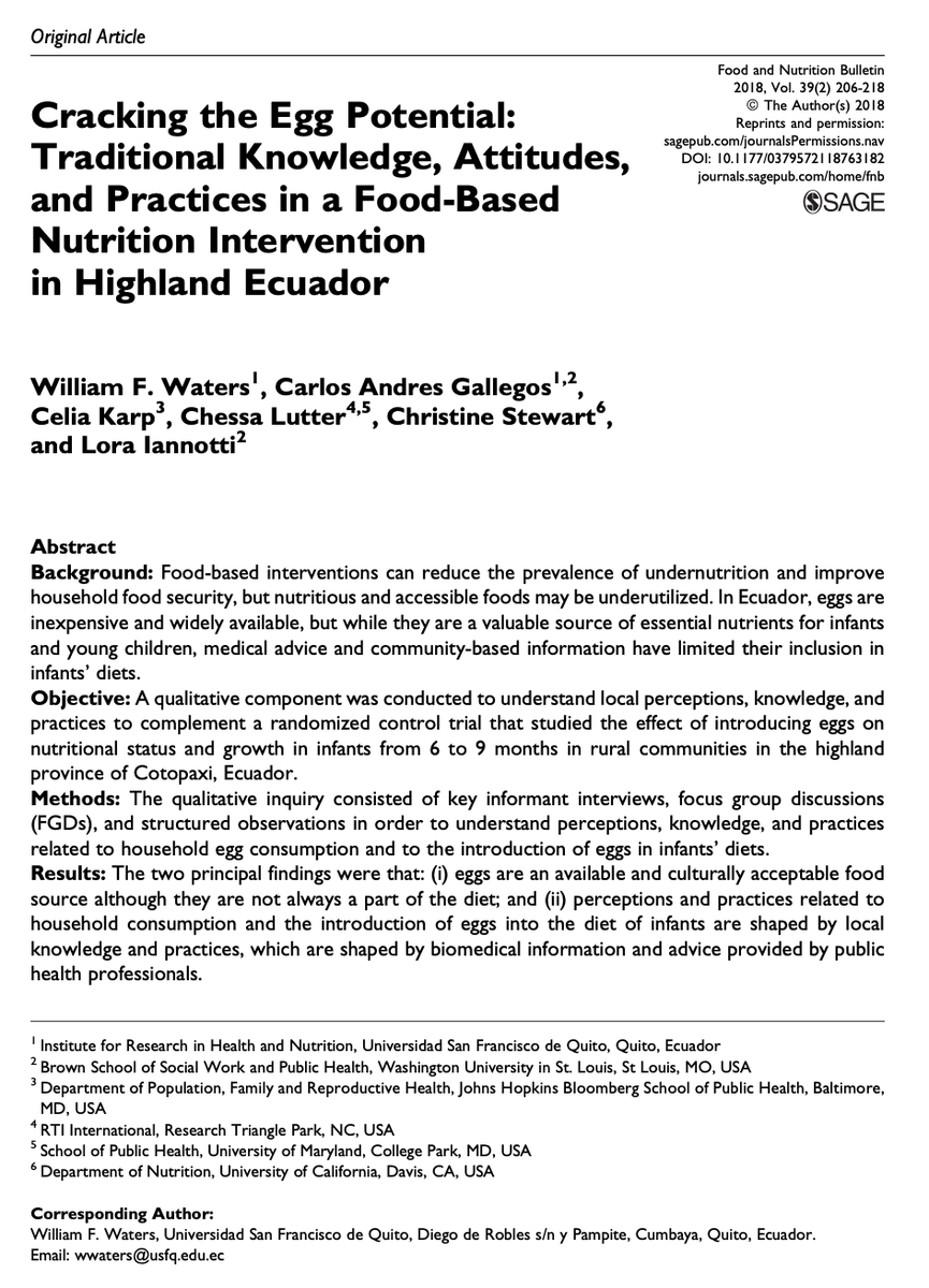 Food & Nutrition Bulletin (@FNBjournal) | Twitter