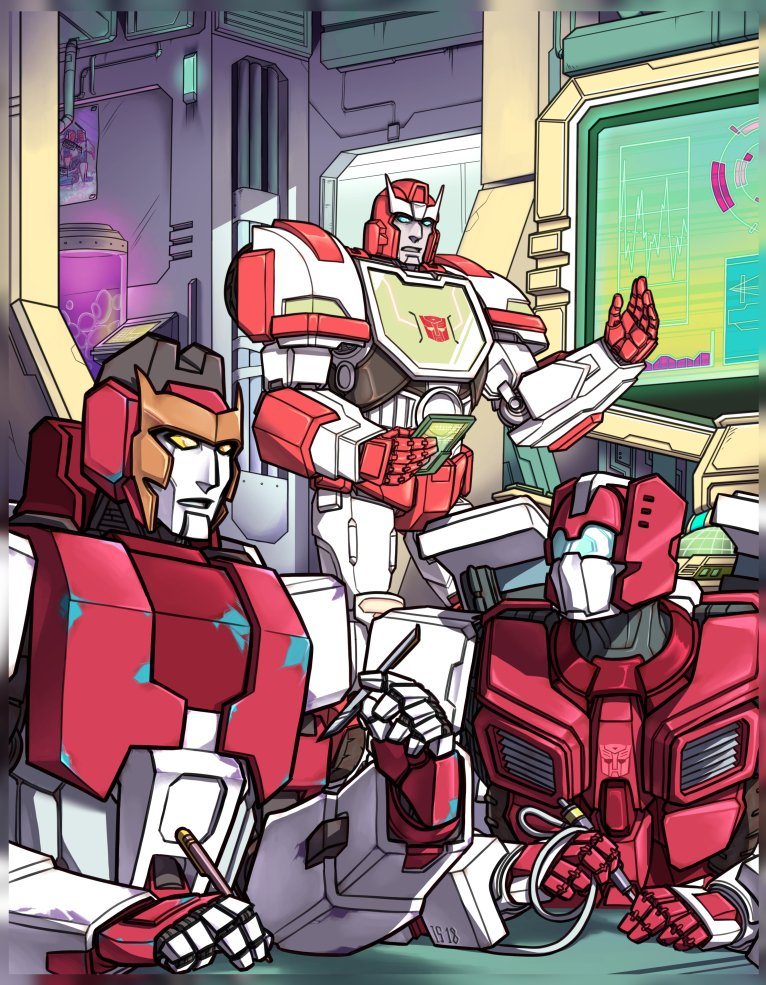 1st of the 2 pieces I did for @RerunsZineHome I had a lot of fun working on this project~ #mtmte #transformers