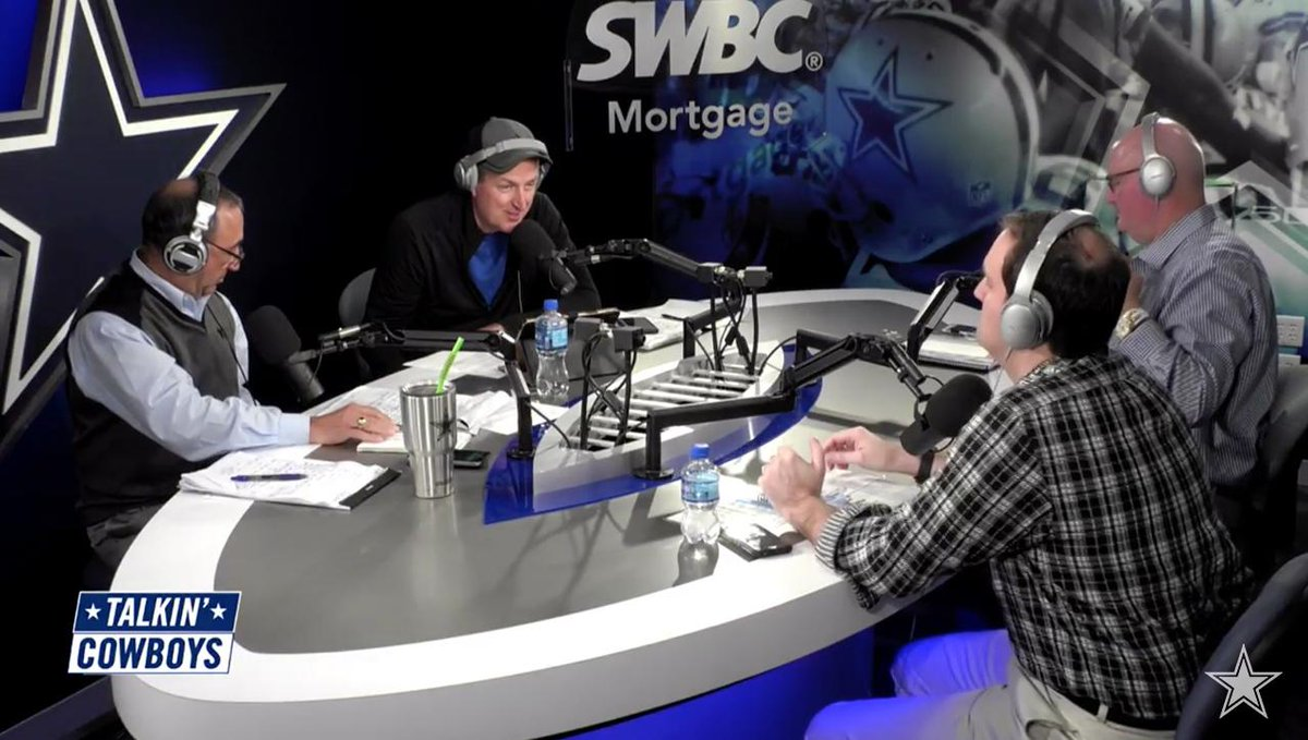 The @TalkinCowboys crew debates what the #DallasCowboys offense will look like this season under first-year coordinator Kellen Moore. Full podcast 🎙 bit.ly/2Qcdrg7