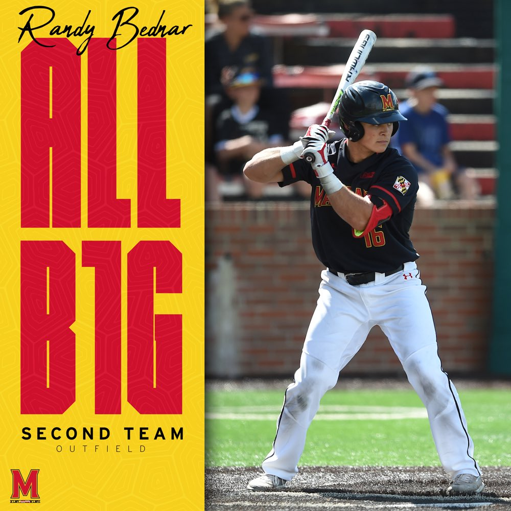 Where all that work gets ya   Randy Bednar is Second Team All-Big Ten!  #DirtyTerps<br>http://pic.twitter.com/rB4SOAZGQo