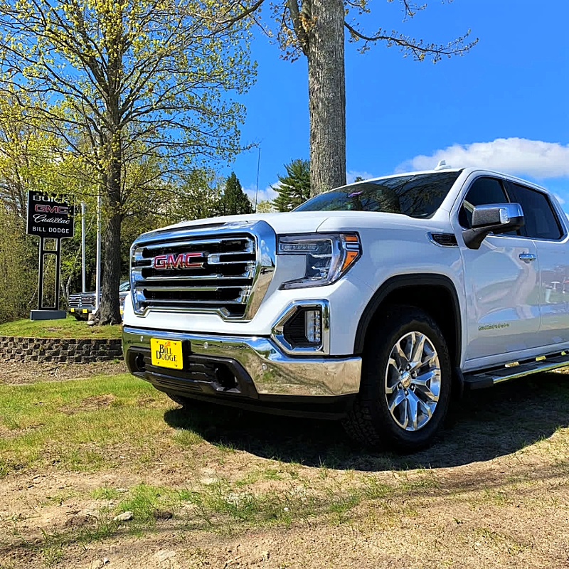 A picture-perfect 2019 Next Generation GMC Sierra 1500 SLT with the X31 Package!See more details http://bit.ly/SierraX31 #GMC #Sierra #X31