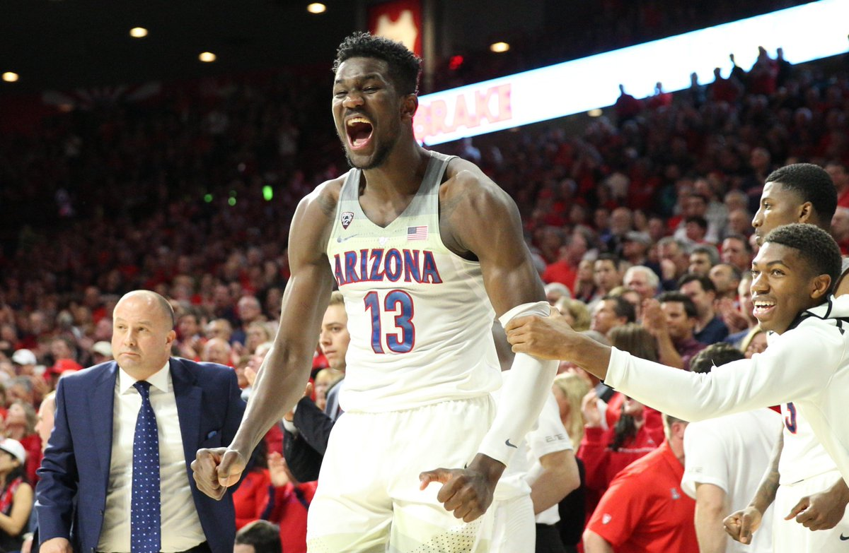 7c5b8d6a0e5 Arizona AthleticsVerified account  AZATHLETICS. Congrats to  DeandreAyton  on being named to the NBA All-Rookie First Team! ...
