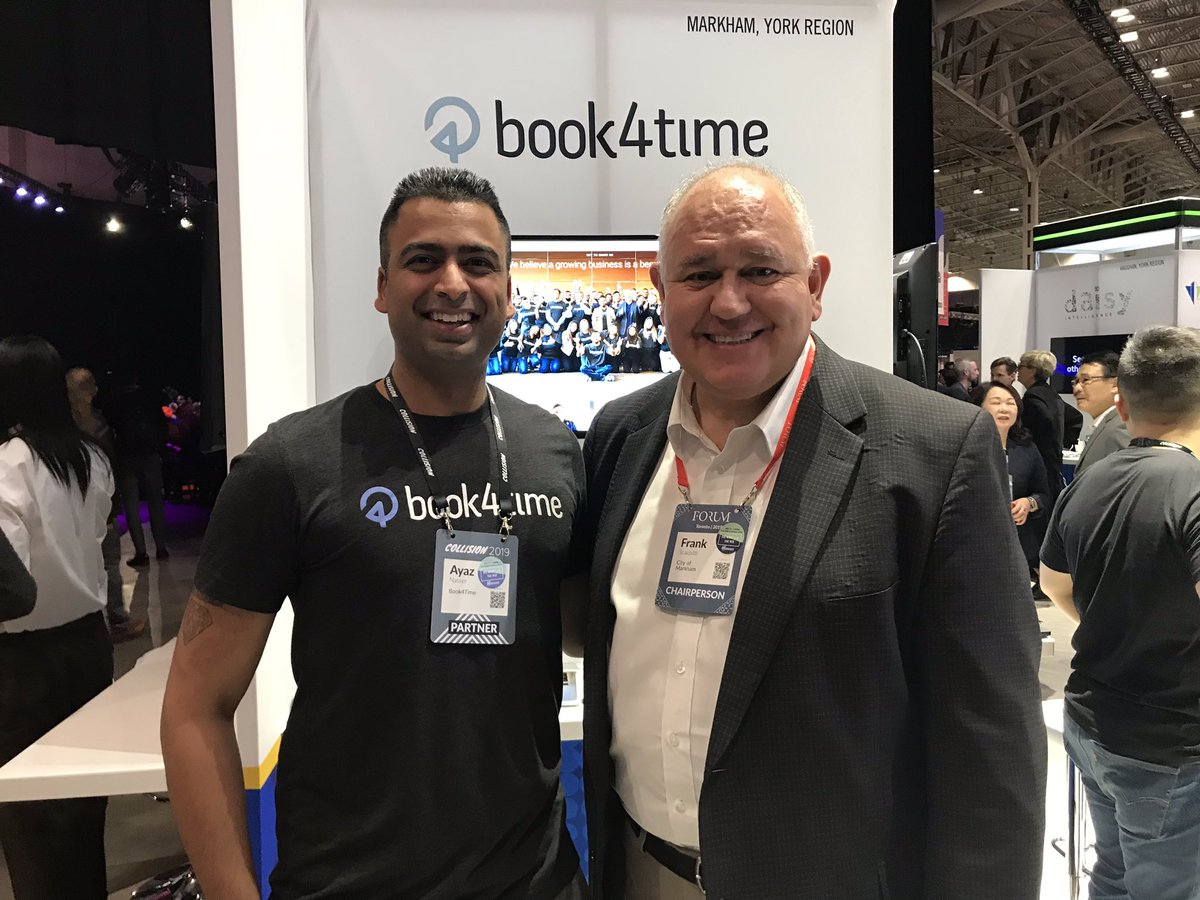 Thanks for stopping by Mayor @frankscarpitti! #CollisionConf #YRtech