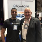 Image for the Tweet beginning: Markham-based @Book4Time is a scale-up