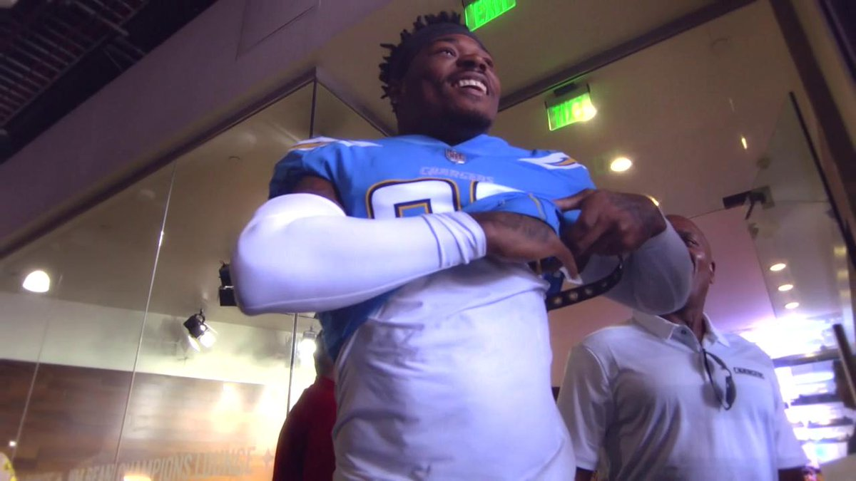 We can do some special things this year. @DerwinJames says dont underestimate the @Chargers 👇 📺: Up to the Minute