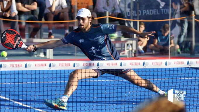 Javi Garrido y Martín Di Nenno ganan su partido en la final de la previa del Jaén Open