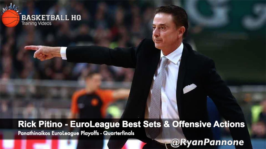 Panathinaikos Head Coach Rick Pitino Best Sets &amp; Plays against Real Madrid in the 2019 Euroleague Quarterfinals  https:// youtu.be/60ktlM38Jgk  &nbsp;  <br>http://pic.twitter.com/PMFLXn9rWE