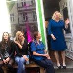 Image for the Tweet beginning: Schönes Frühlingsfest im #Wahlkreisbüro von