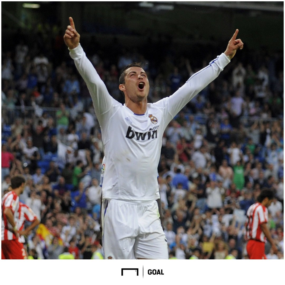 #OnThisDay in 2011 Cristiano Ronaldo became the first player to score 40 La Liga goals in one season ⚽⚽⚽⚽⚽⚽⚽⚽⚽⚽ ⚽⚽⚽⚽⚽⚽⚽⚽⚽⚽ ⚽⚽⚽⚽⚽⚽⚽⚽⚽⚽ ⚽⚽⚽⚽⚽⚽⚽⚽⚽⚽