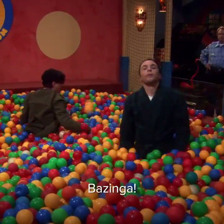 .@YoungSheldon knows: if it's funny, it's a BAZINGA! 💥