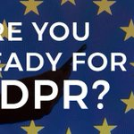 Image for the Tweet beginning: Where #GDPR goes next: How