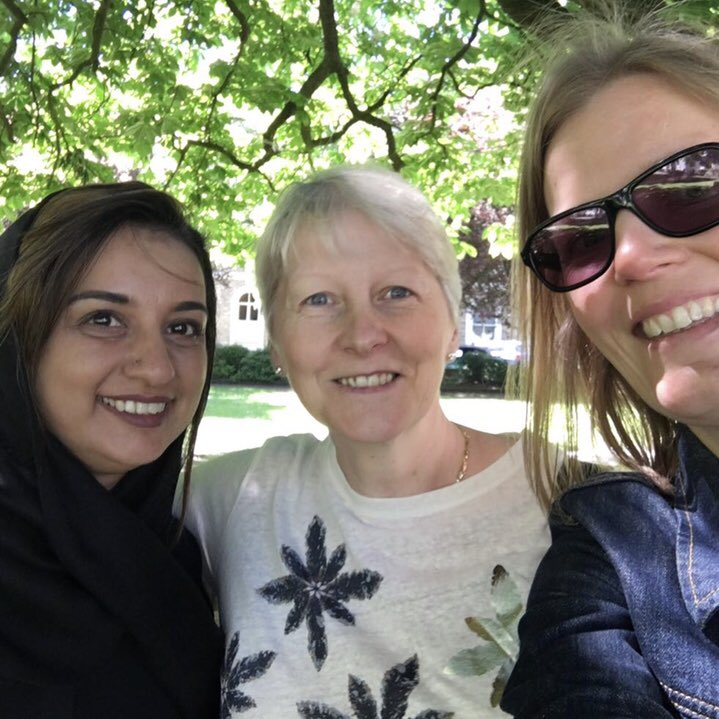 A fond farewell to @NearNeighbourBC Ruth Burgess, (on the right) today. A supportive, caring colleague and friend will be missed 💜 wishing you the best💜 gna miss you loads 😘