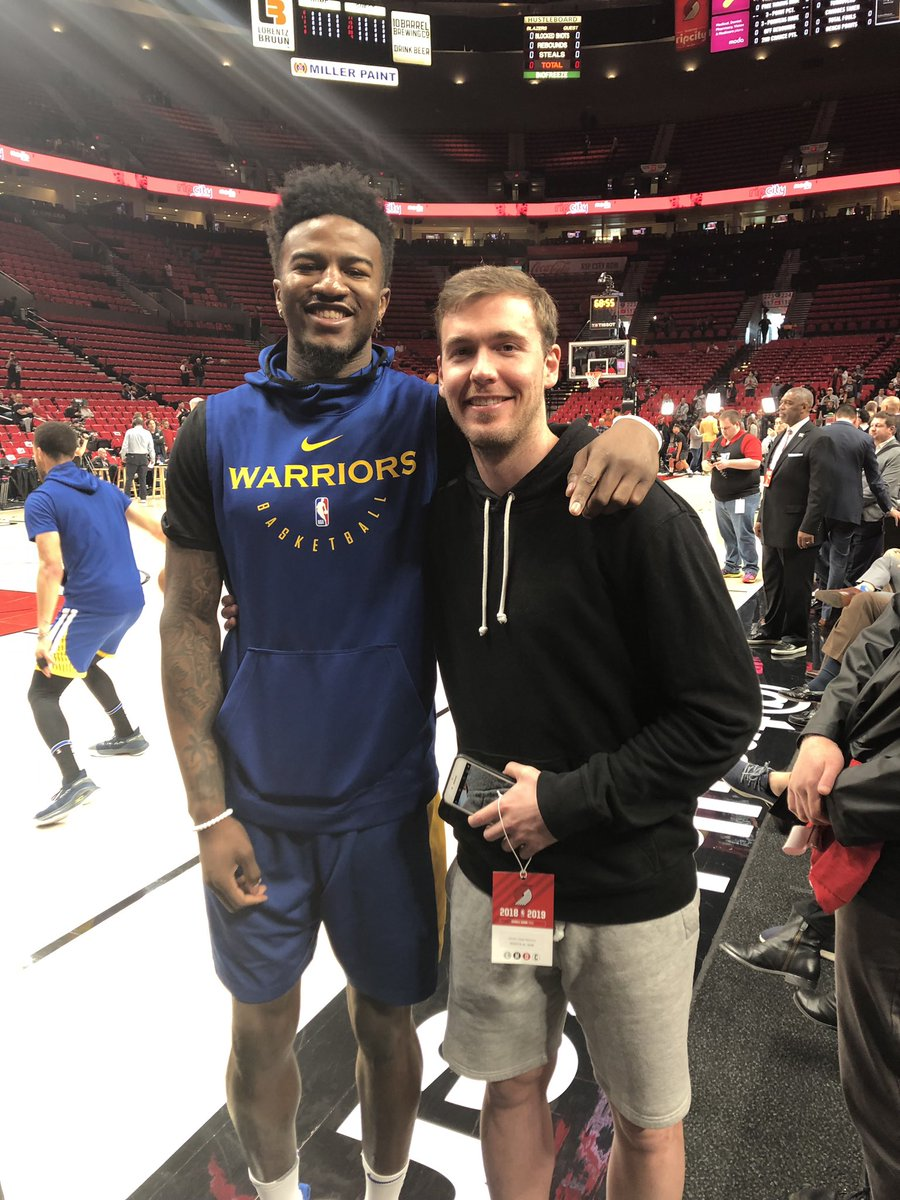 Couldn't be more proud of my brother @1jordanbell 🤞🏼