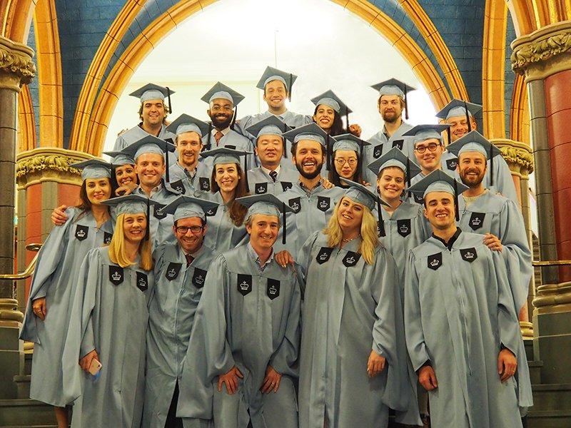 It's graduation day! Congratulations, PSL '19 and LA '19!
