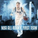 Image for the Tweet beginning: 👏UNANIMOUS!👏  Congrats to @luka7doncic for being