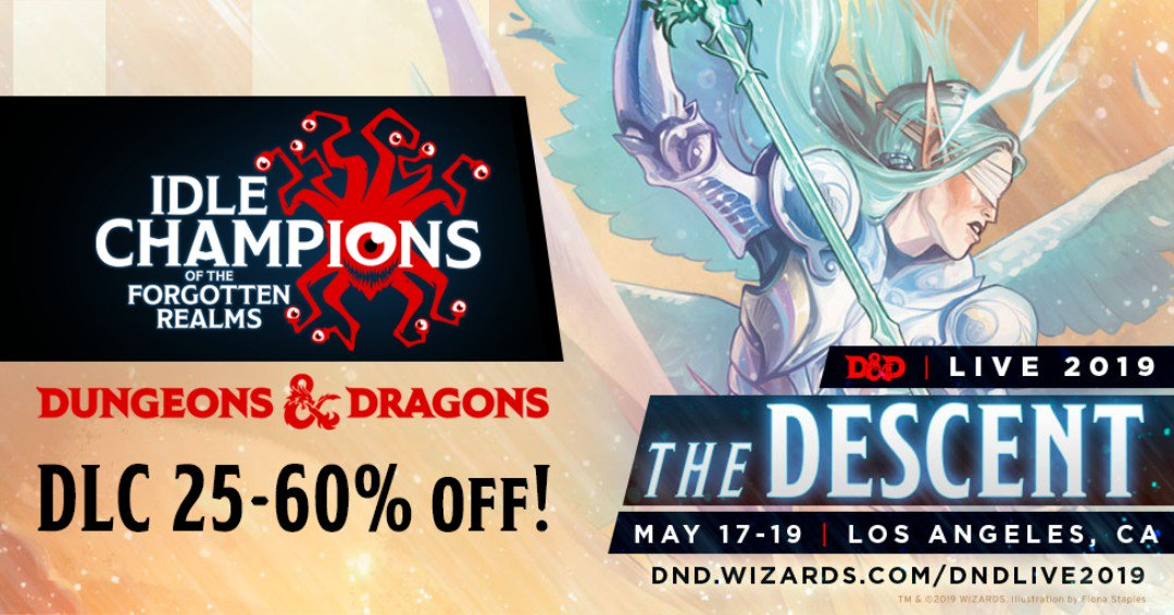 Massive #DnD PC game sale still on all this week! Check it out on Steam right now!   http://ow.ly/XqsM50ulvBp   Sale ends 10 AM PT on May 24th