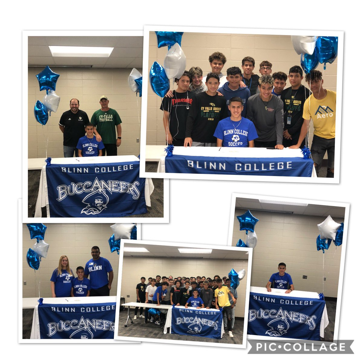 b7a88ef53 ... student athlete signing their college letter of intent. Congratulations  Oscar DeSantiago for signing with Blinn College!pic.twitter.com/ndhmmjYi5g