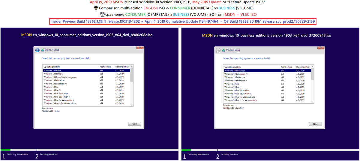 windows 10 1903 iso download msdn