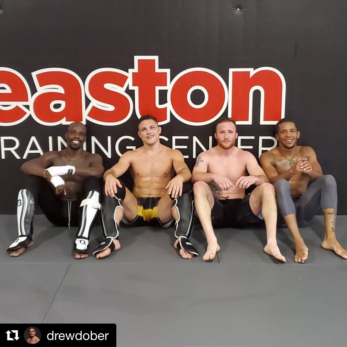 "#Repost @drewdober: Tuesday sparring, somedays you're the hammer and somedays youre the nail. With this crew that changes each round. I'm so grateful for the ass kicking I recieve from these guys. ""I get beat up Monday through Friday, so I can beat someone else up on Saturday"""