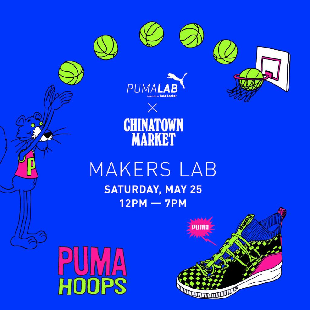 outlet store 7e0a8 ef4e8 PUMA X CHINATOWN MARKET SUMMERTIME CAPSULE DROPS AT THE  PUMALAB AND ON  http   FOOTLOCKER.COM ON 5.25. CUSTOMIZE YOUR PUMA X CHINATOWN MARKET GEAR  WITH ...