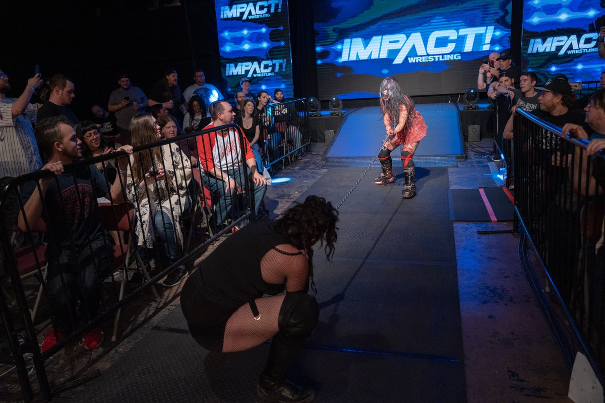 The latest episode of #IMPACT is available now on IMPACT Plus in the US and Canada!@WeAreRosemary battled @realsuyung in a Demon Collar match and more!SIGN UP: https://impactplus.tv/