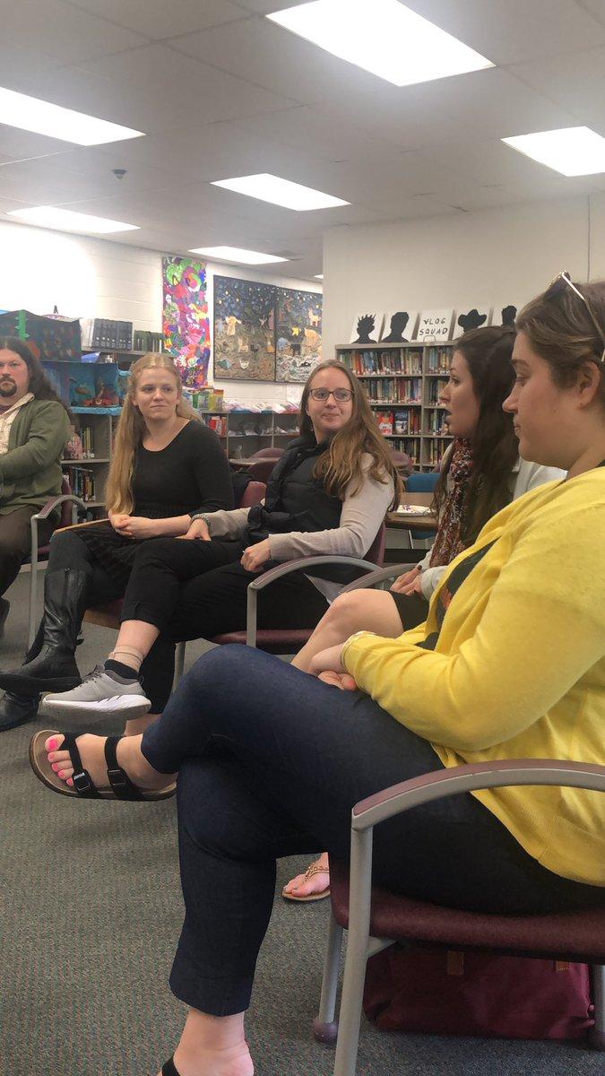 Sitting at the Mentor Colloquium @ProctorSchool . Love our new teachers  in the GRCSU #Mullin #Elliott<br>http://pic.twitter.com/KhJIUg7SeG
