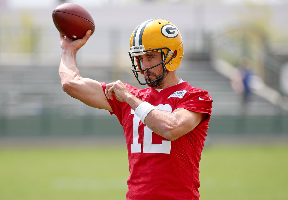 OTAs offer early glimpse of Rodgers, LaFleur dynamic dlvr.it/R58dv9 #Packers #GoPack