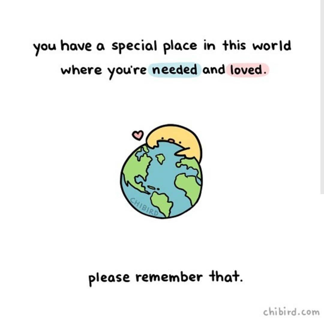 test Twitter Media - RT @actionhappiness: Remember: you have a special place in this world where you're needed and loved 🌎💕 https://t.co/ptAOlKdt4G