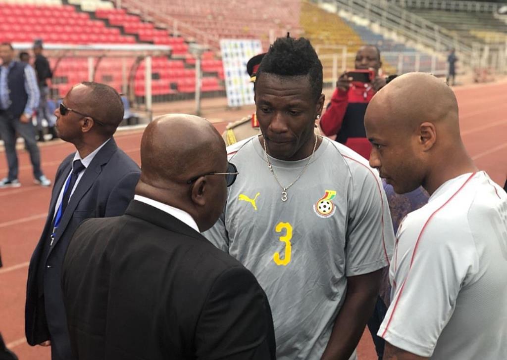 President Nana Addo Orders Asamoah Gyan To Return To Black Stars Team READ:https://ghanasportsonline.com/2019/05/president-nana-addo-orders-asamoah-gyan-to-return-to-black-stars-team/…